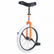"20""  UDC Club Unicycle Orange/White"