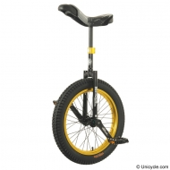 "19"" Nimbus Trials Unicycle Gold"