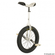 "19"" Impact Gravity Unicycle. White"