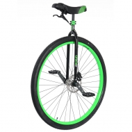 "36"" Nimbus Oracle Disc Unicycle Green"