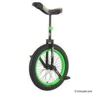 "19"" Nimbus Trials Unicycle Green"